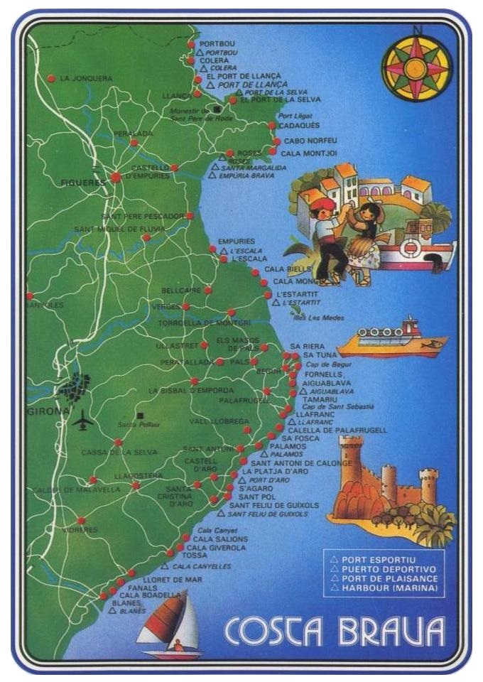 Abbots Travel - The Costa Brava - Hotels, Inns and ...